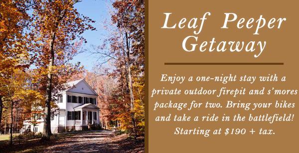 Leaf Peeper Getaway - Spotsylvania, Virginia
