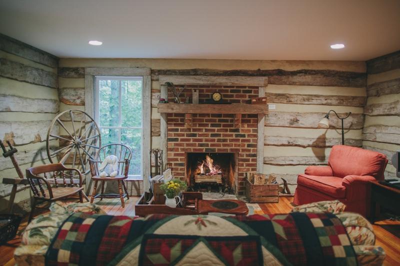 Adrian Cabin Living Room