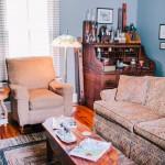 Civil War House living room 1
