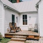 Civil War House side porch