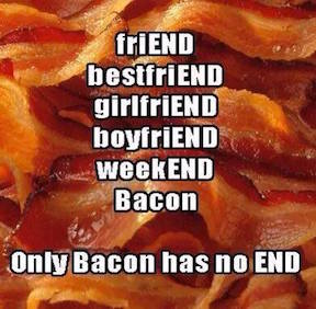 Bacon has No End